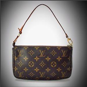 🚫sold🚫L V Pochette Monogram Handbag + Dust Bag